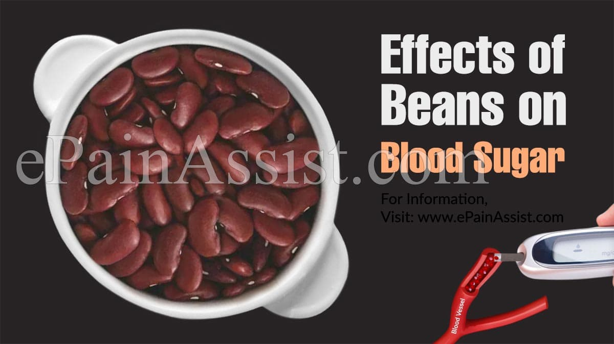 Effects of Beans on Blood Sugar