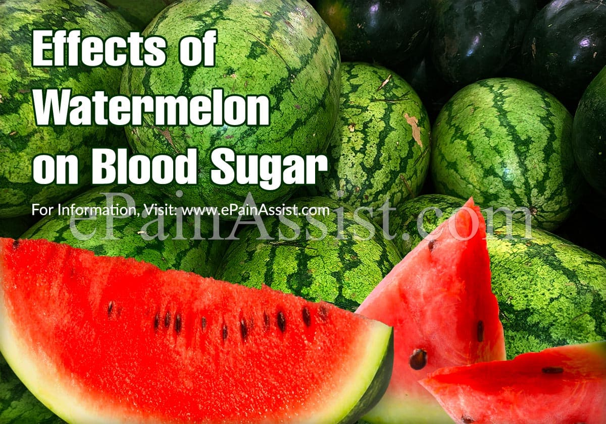 Effects of Watermelon on Blood Sugar