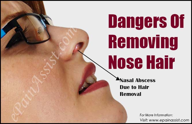 Dangers Of Removing Nose Hair