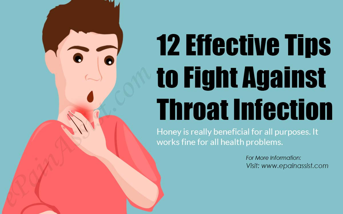 12 Effective Tips to Fight against Throat Infection