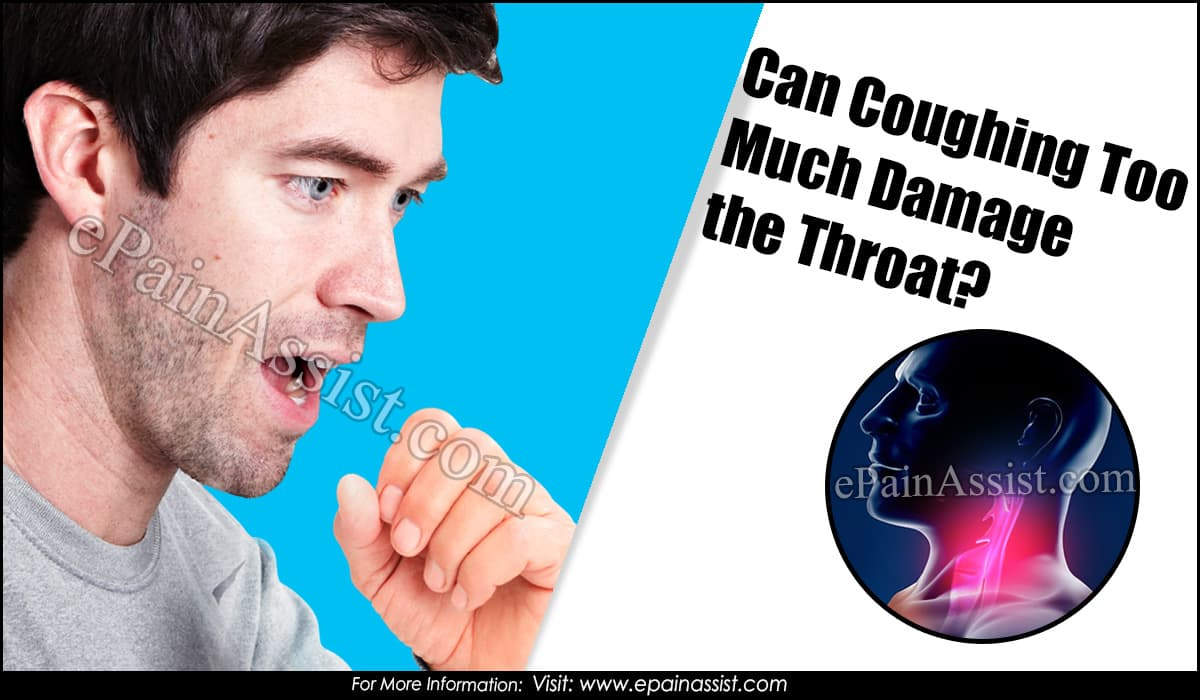Can Coughing Too Much Damage the Throat?