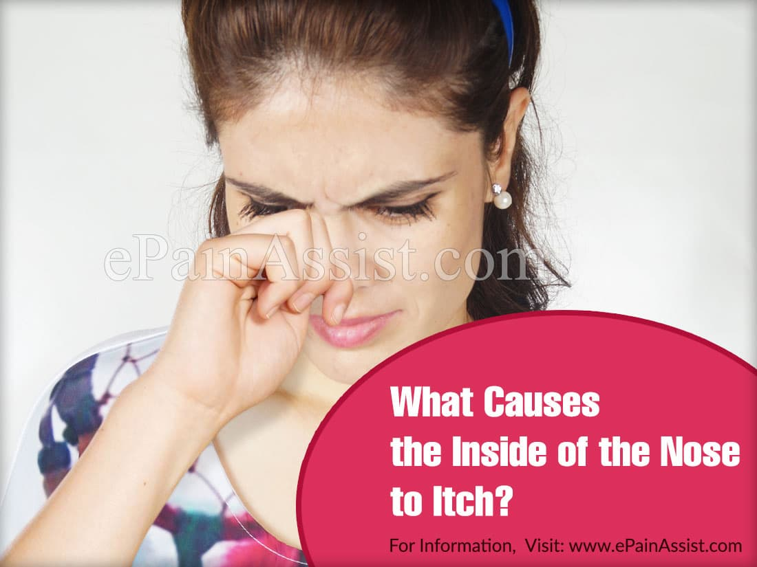 What Causes the Inside of the Nose to Itch?