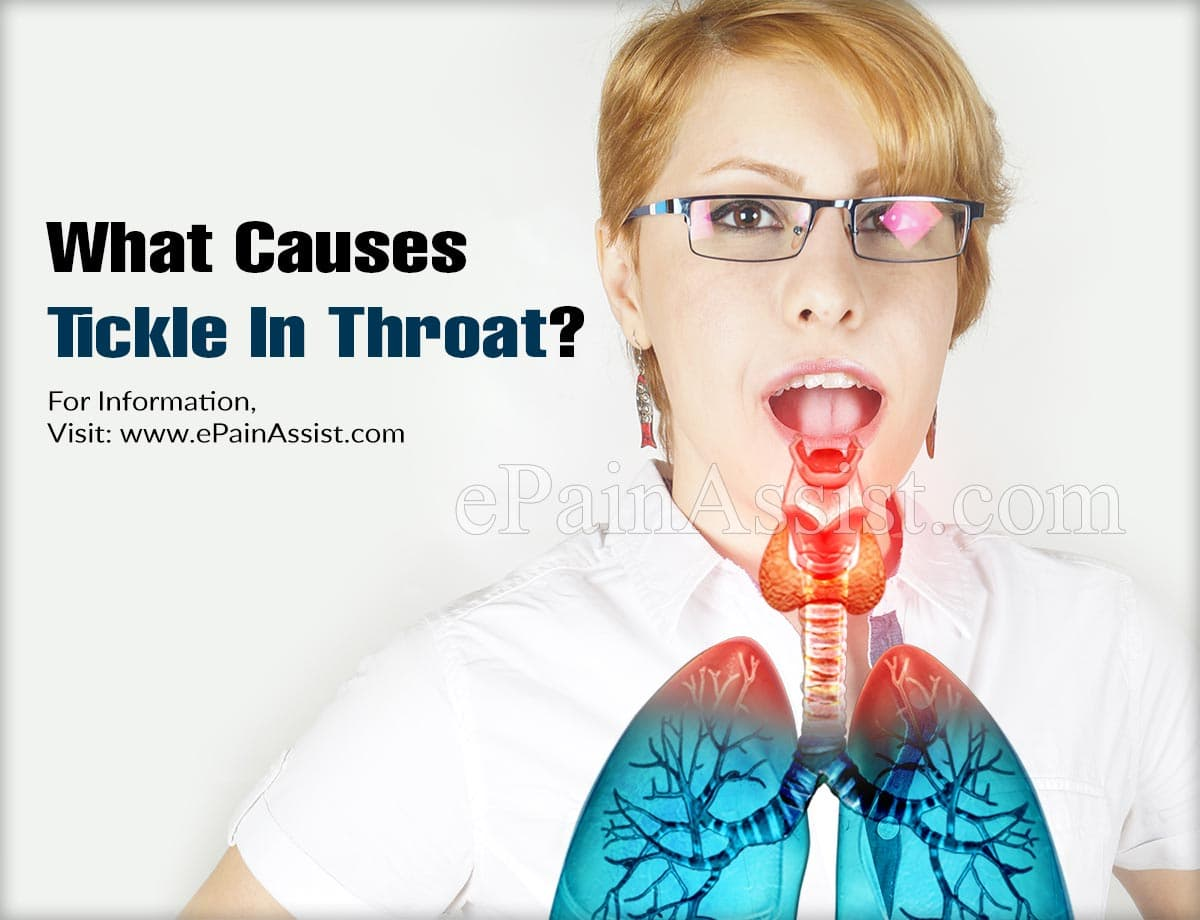 What Causes Tickle In Throat?