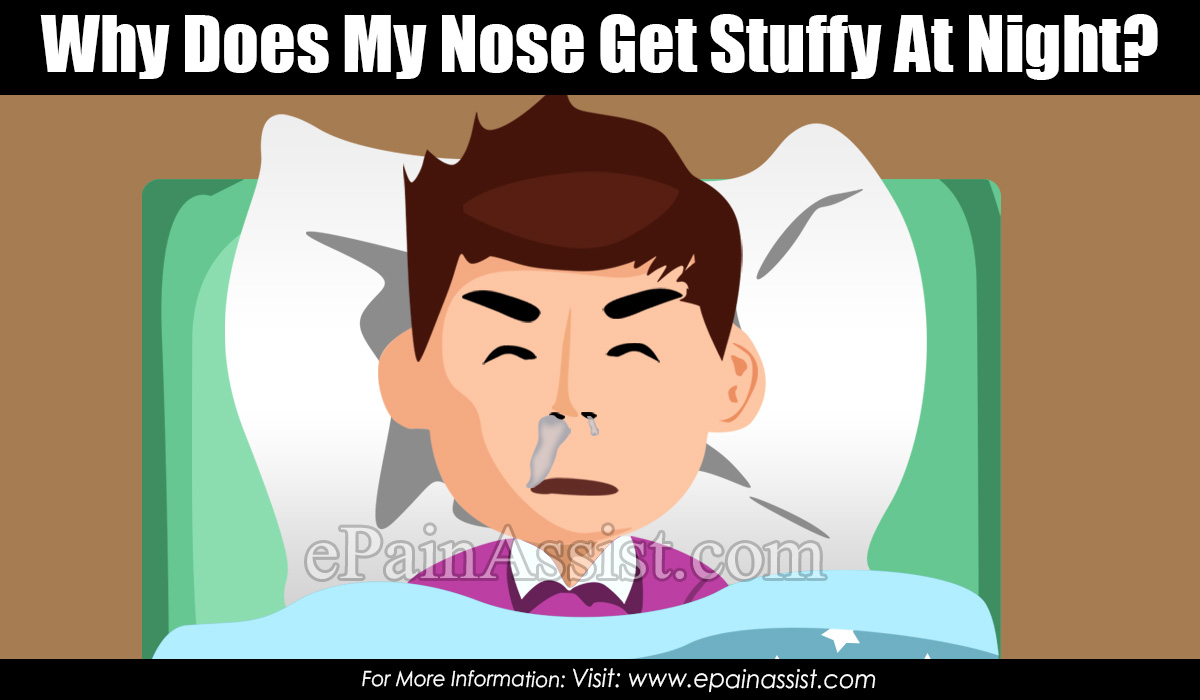 Why Does My Nose Get Stuffy At Night?
