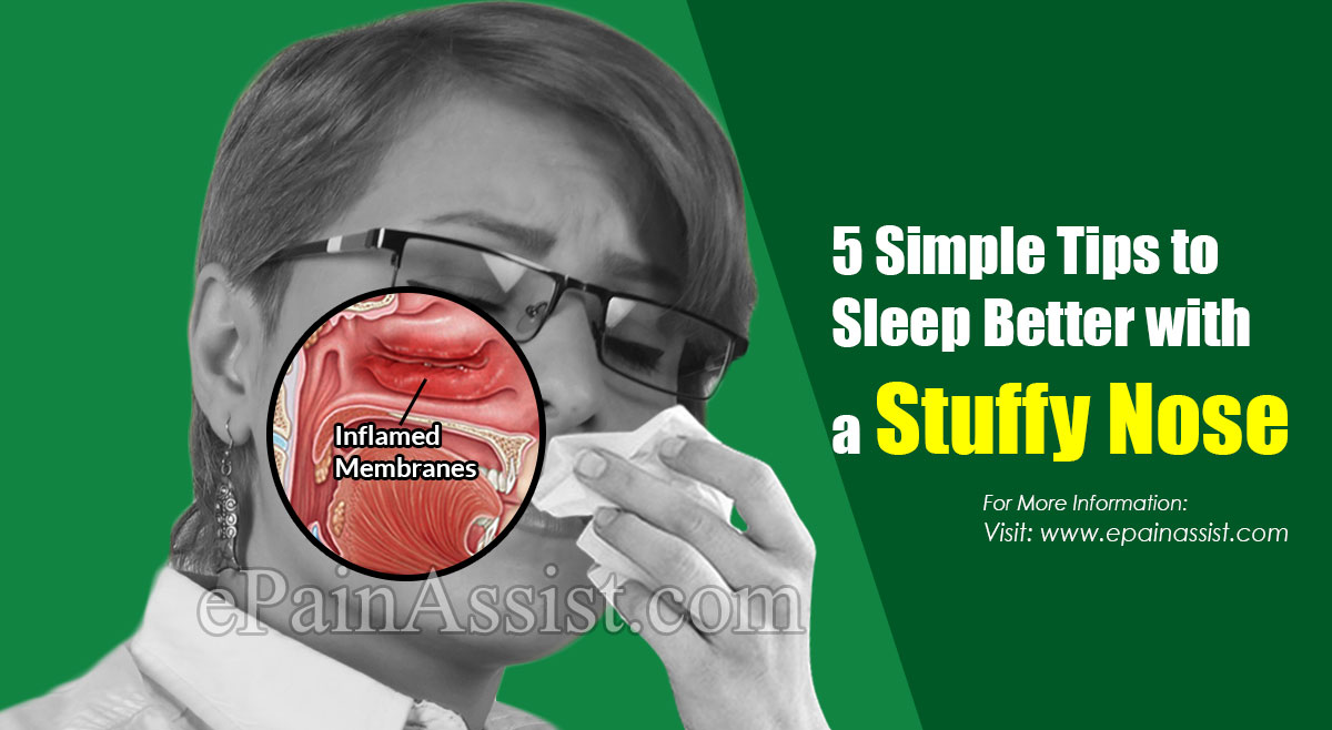 5 Simple Tips to Sleep Better with a Stuffy Nose