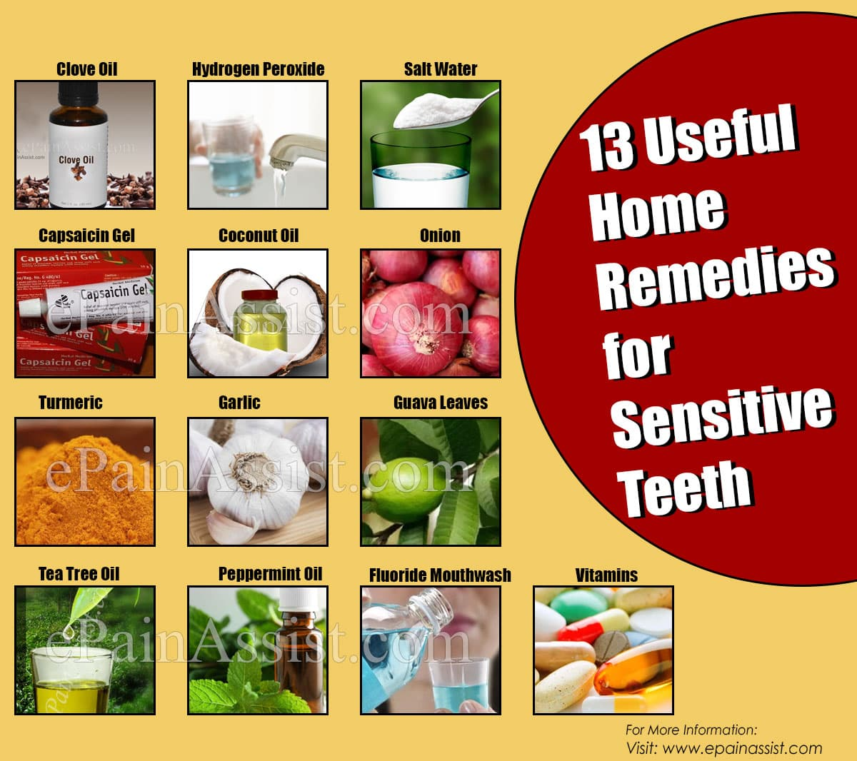 13 Useful Home Remedies for Sensitive Teeth