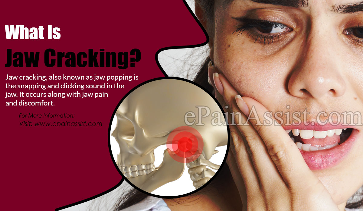 What Is Jaw Cracking?