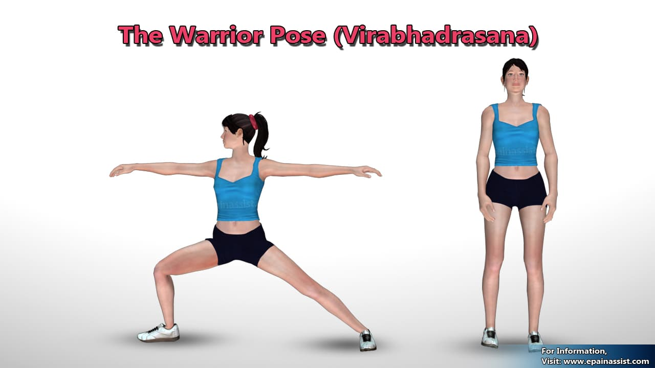 Virabhadrasana (Warrior pose) for Osteoarthritis of the Knee