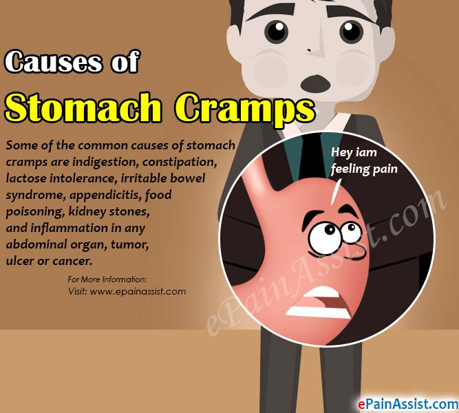 Causes of Stomach Cramps