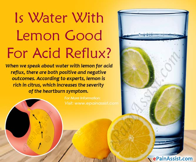 Is Water With Lemon Good For Acid Reflux?