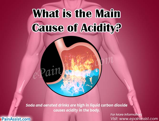 What is the Main Cause of Acidity?