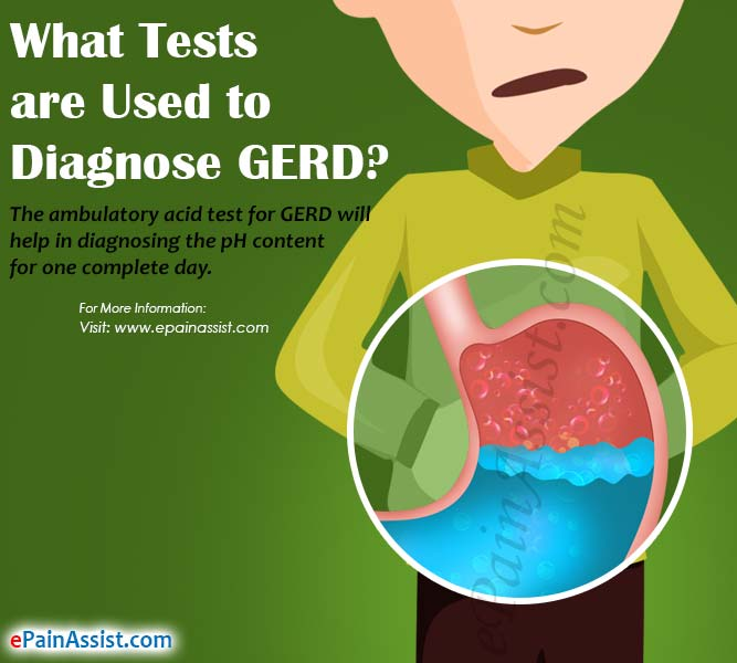 What Tests are Used to Diagnose GERD?