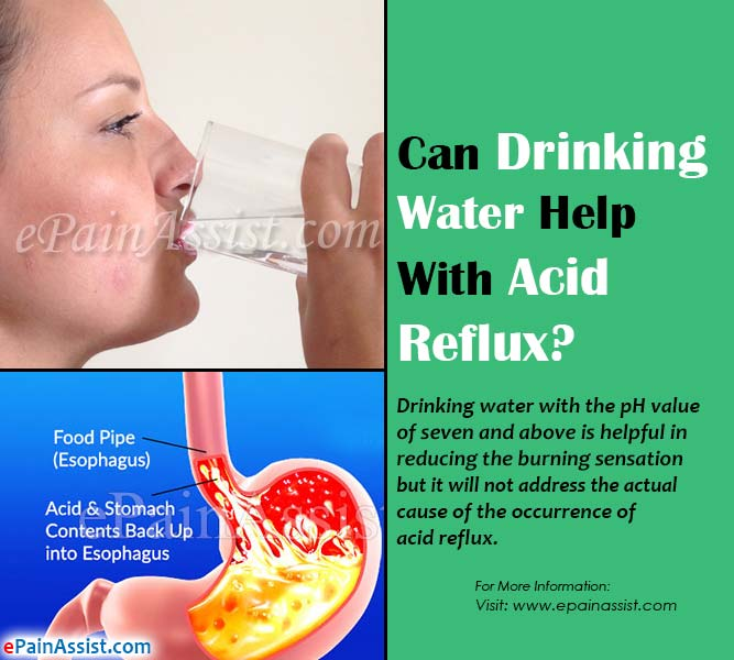 Can Drinking Water Help With Acid Reflux?