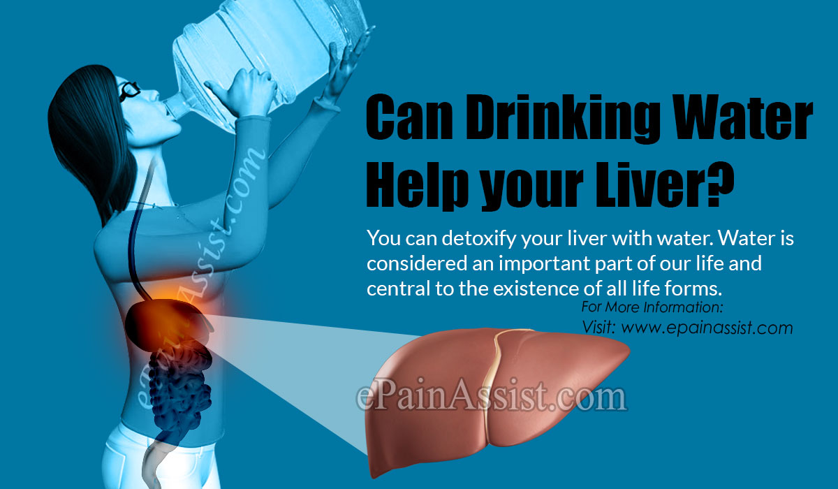 Can Drinking Water Help your Liver?