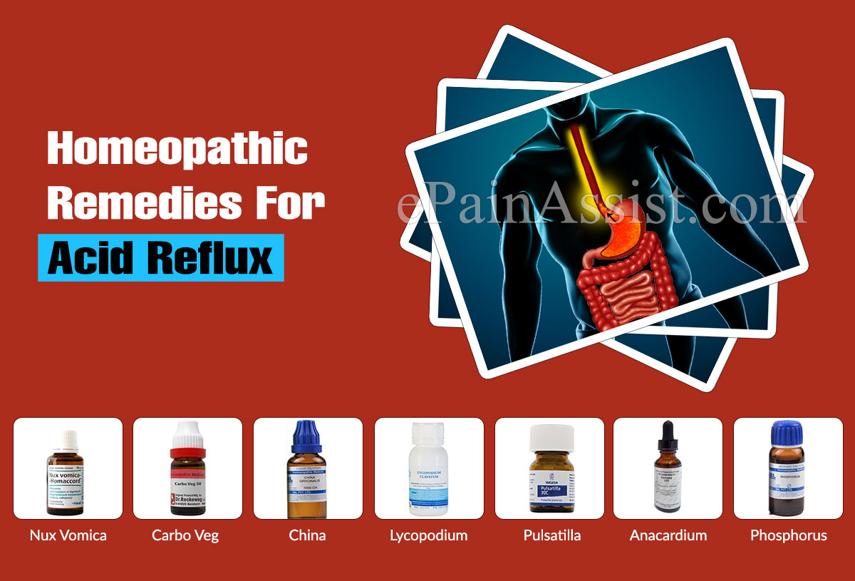Homeopathic Remedies For Acid Reflux