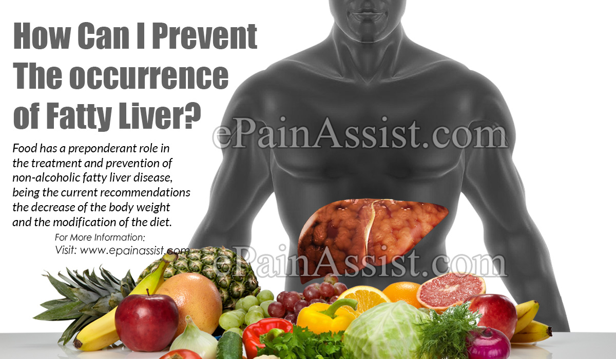 How Can I Prevent The Occurrence of Fatty Liver?