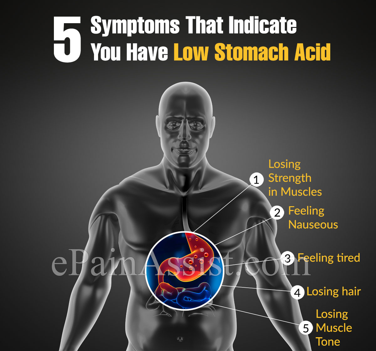 5 Symptoms That Indicate You Have Low Stomach Acid