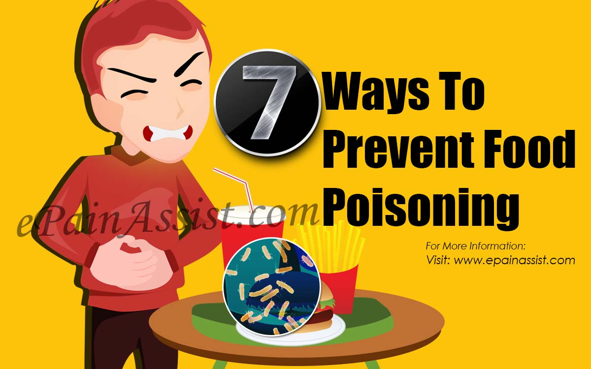 7 Ways To Prevent Food Poisoning