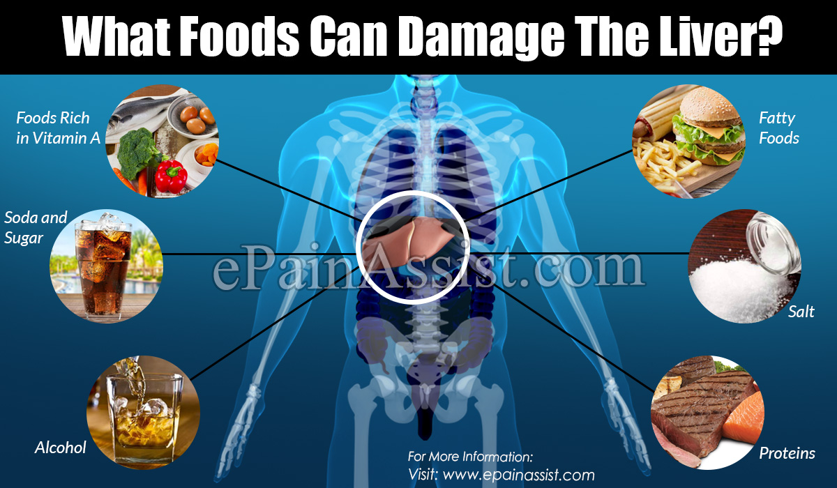 What Foods Can Damage The Liver?