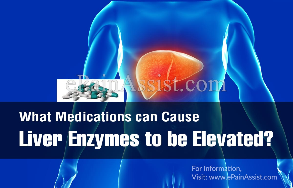 What Medications can Cause Liver Enzymes to be Elevated?