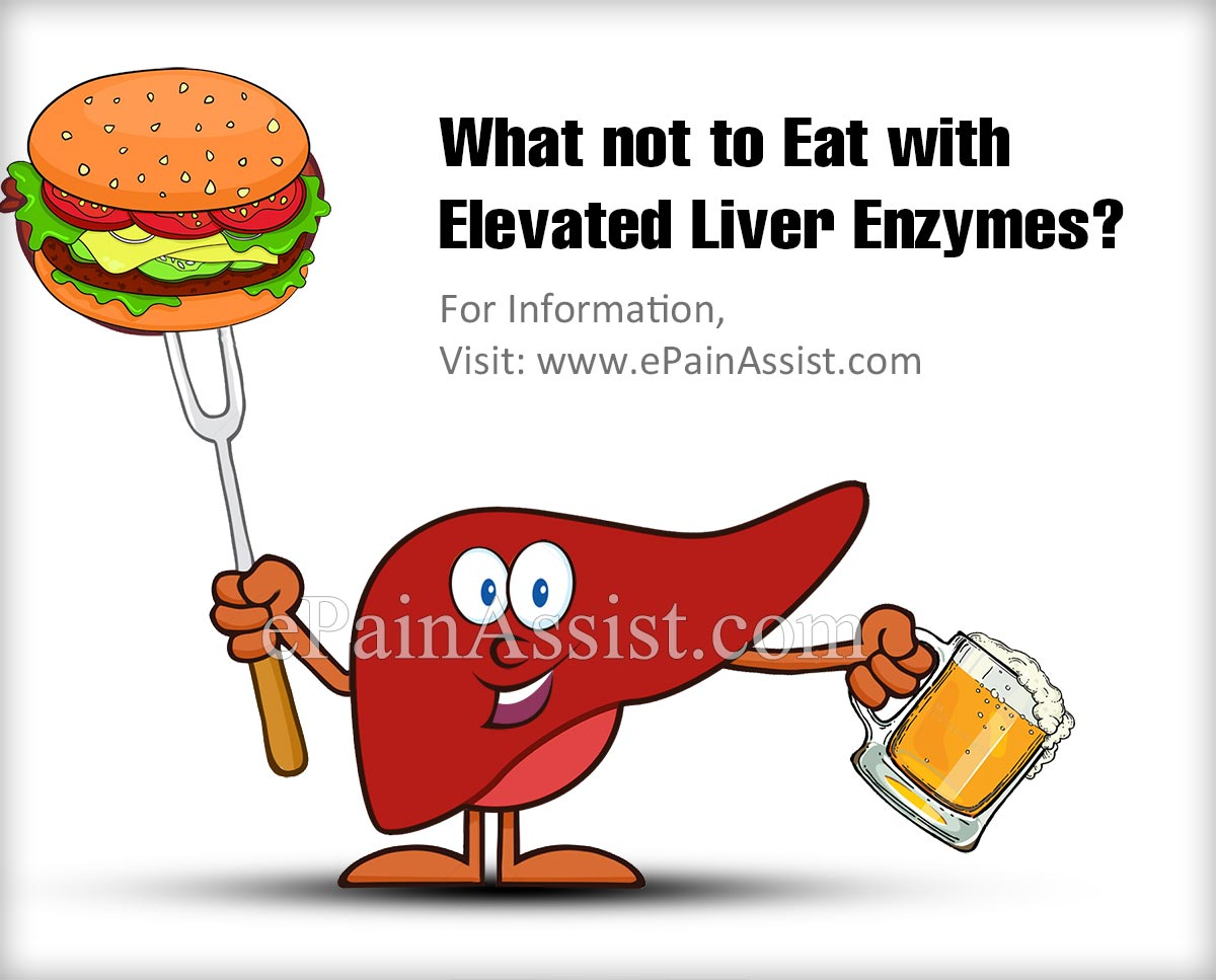 What Not to Eat With Elevated Liver Enzymes?