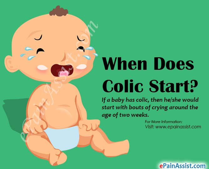 When Does Colic Start?