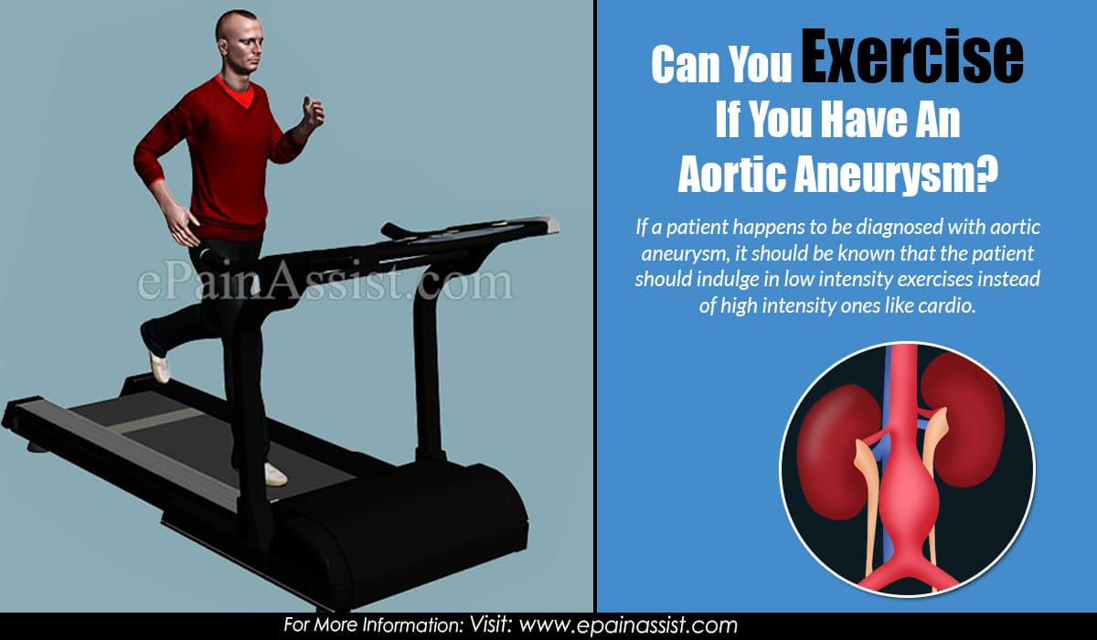 Can You Exercise If You Have An Aortic Aneurysm?