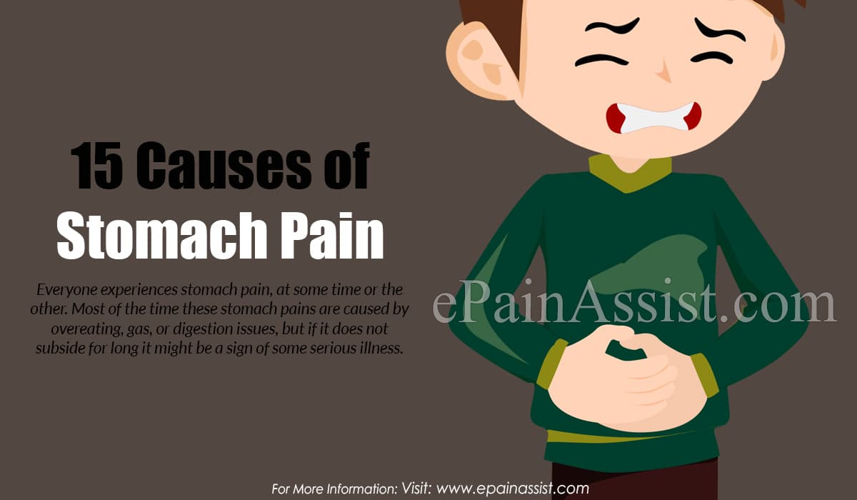 15 Causes of Stomach Pain