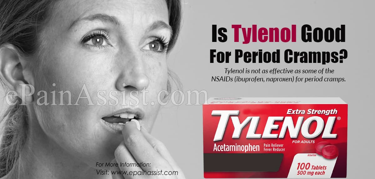 Is Tylenol Good For Period Cramps?