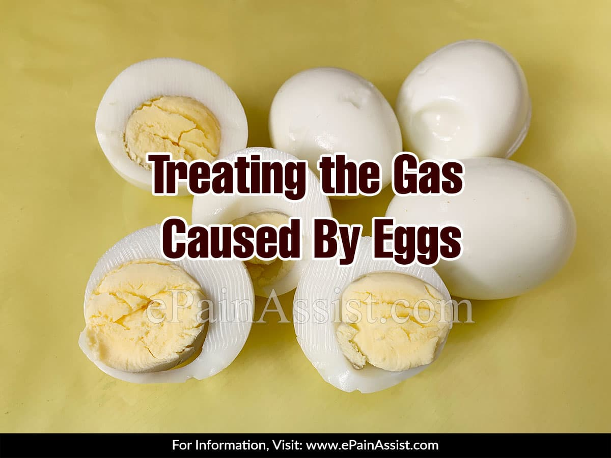 Treating the Gas Caused By Eggs