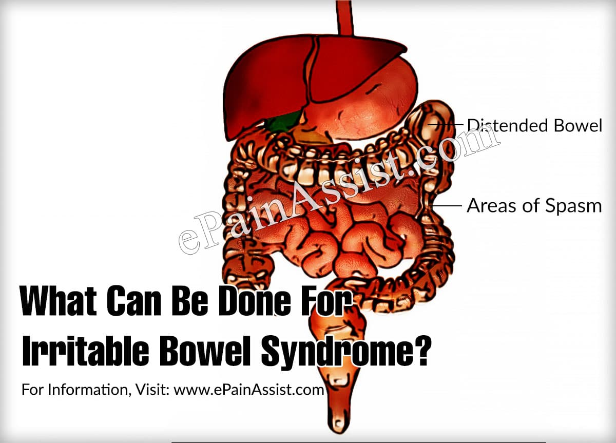 What Can Be Done For Irritable Bowel Syndrome?