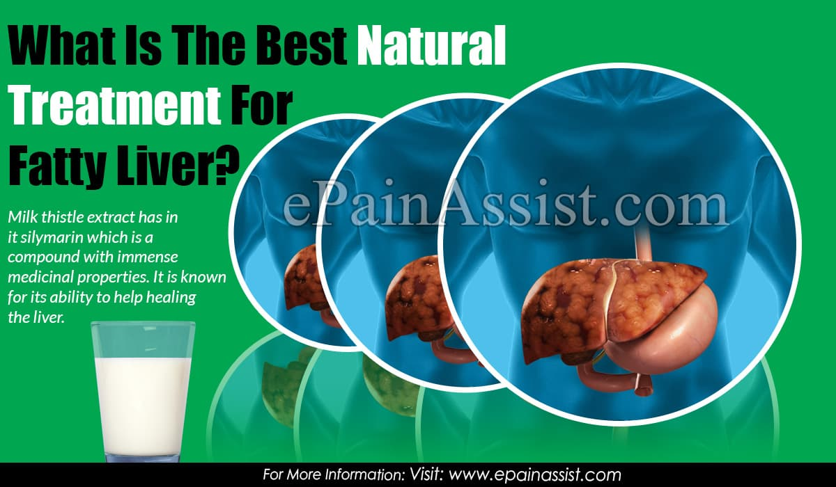 What Is The Best Natural Treatment For Fatty Liver?