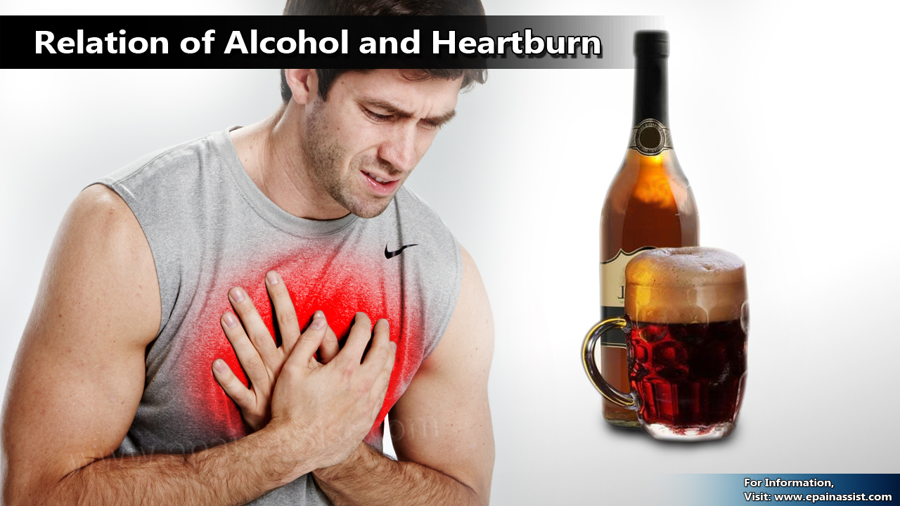 Relation of Alcohol and Heartburn
