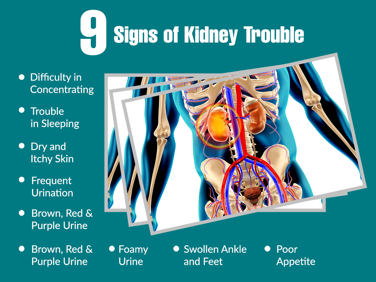 9 Signs of Kidney Trouble