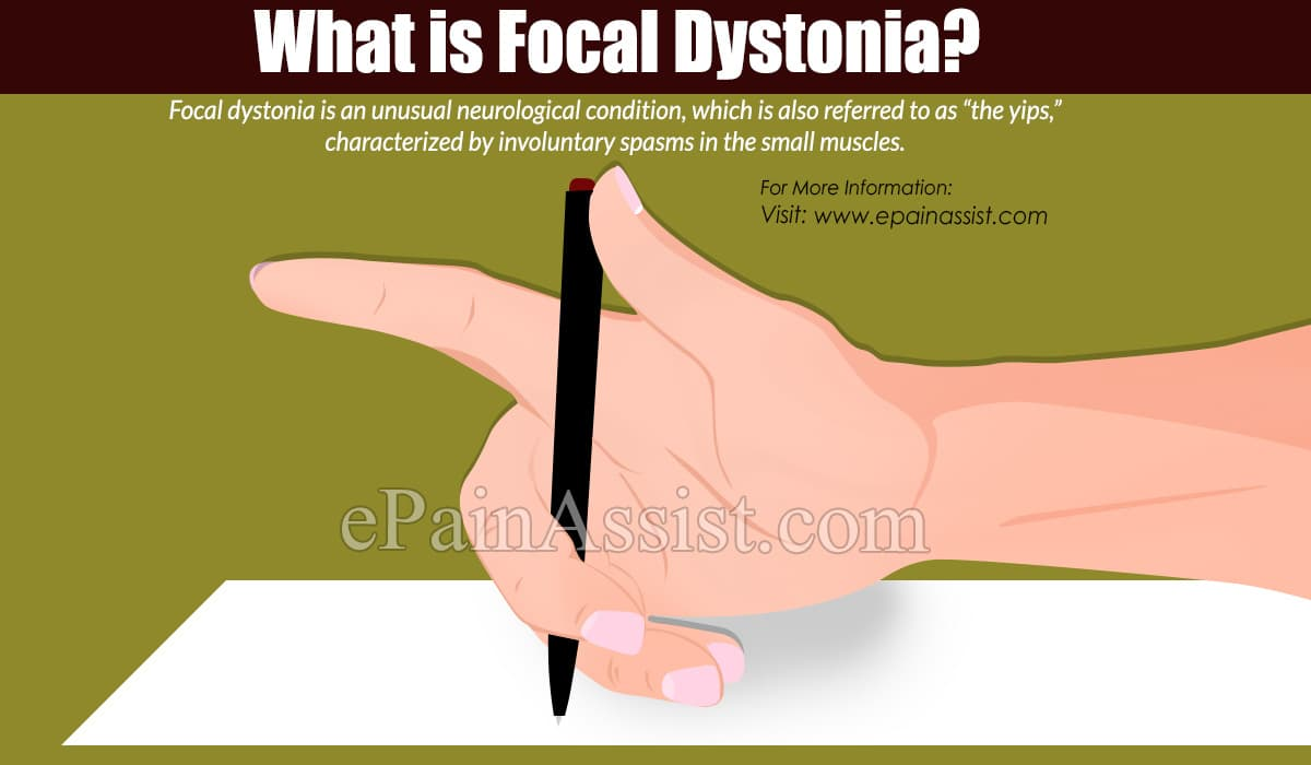 What is Focal Dystonia?