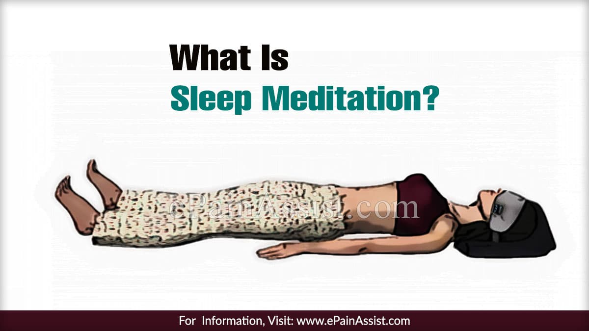 What Is Sleep Meditation?