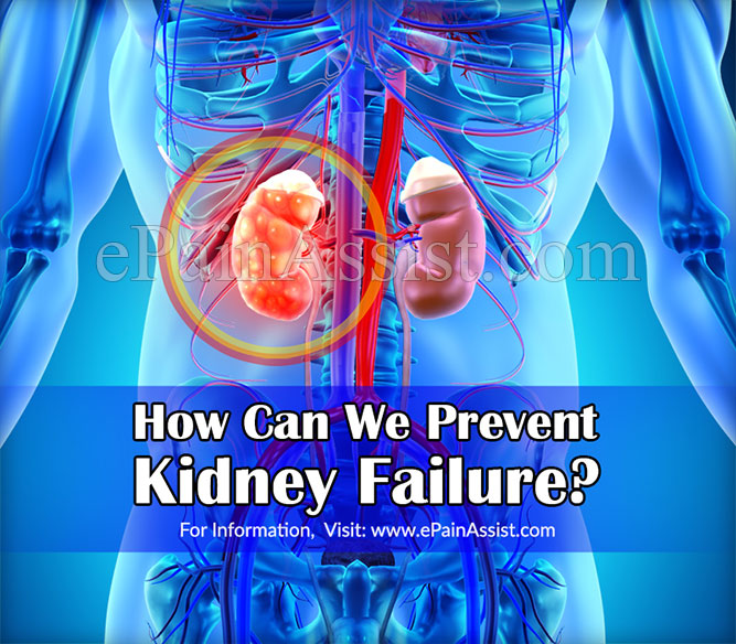 How Can We Prevent Kidney Failure?