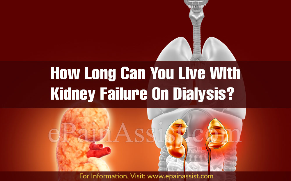 View How Long Can Person Live With Kidney Failure  To Get Inspired