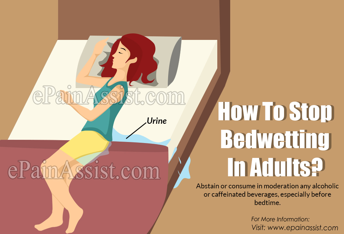 How To Stop Bedwetting In Adults?