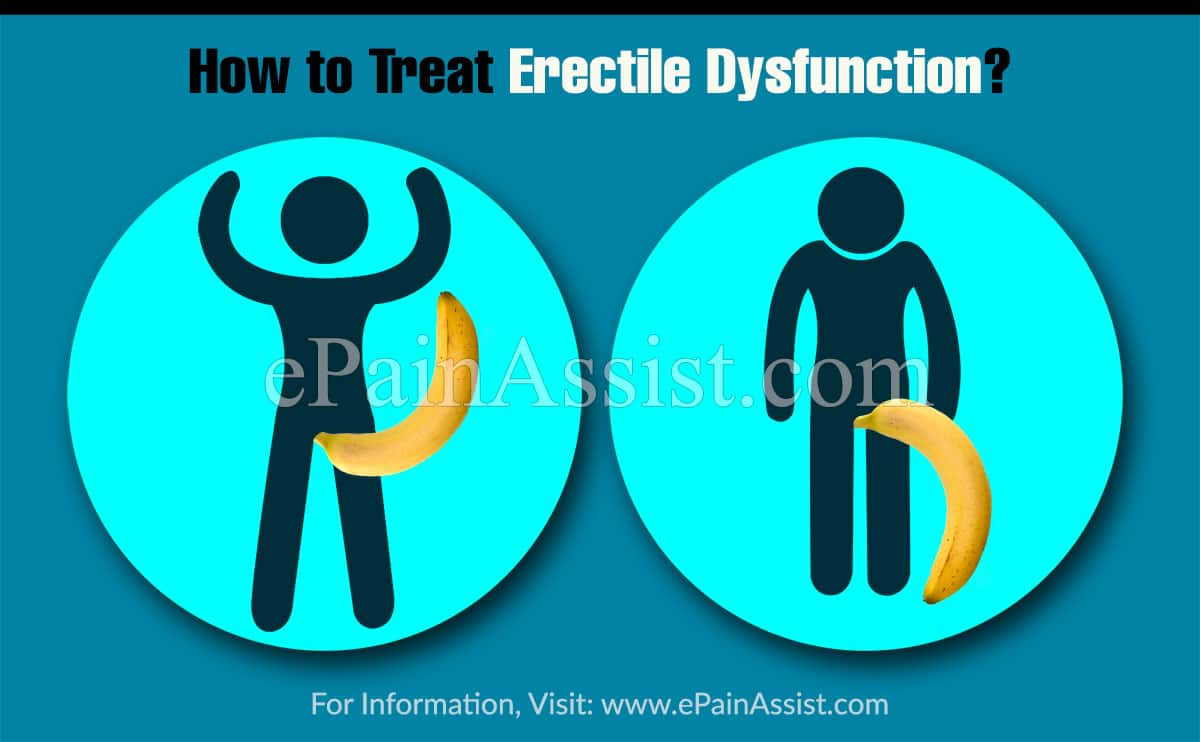 How to Treat Erectile Dysfunction?