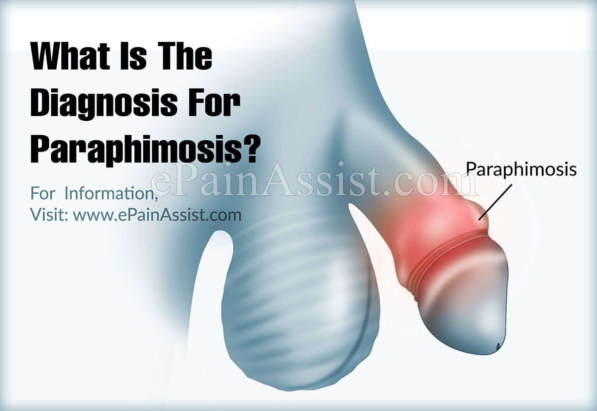 What Is The Diagnosis For Paraphimosis?