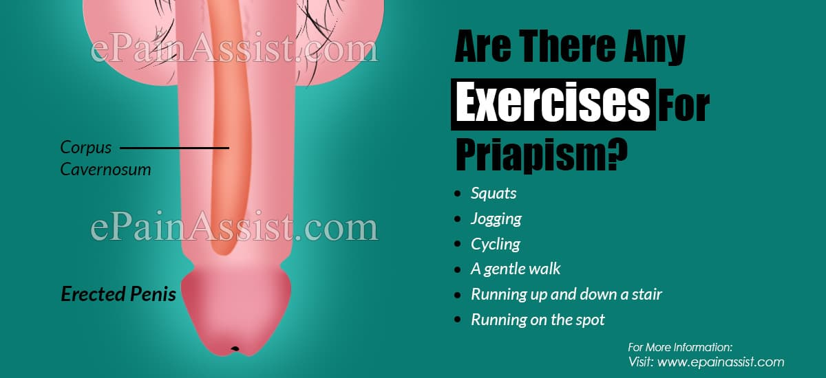 Are There Any Exercises For Priapism?