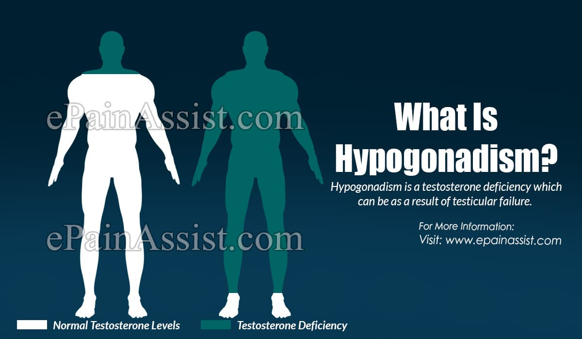 What Is Testicular Failure With Hypogonadism?