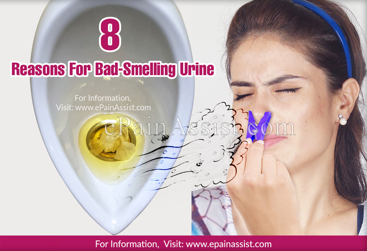 8 Reasons For Bad-Smelling Urine