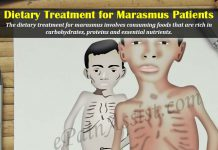 Dietary Treatment for Marasmus Patients