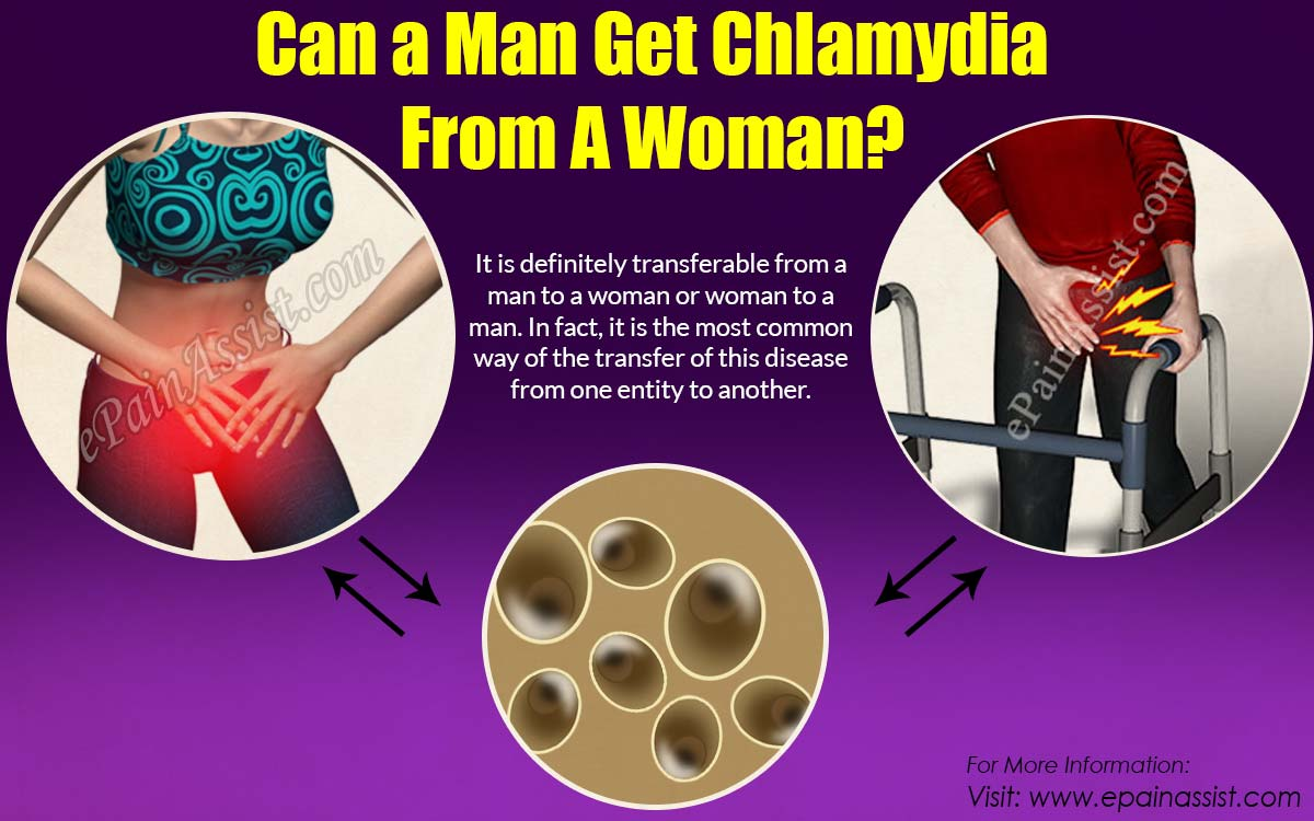 Can a Man Get Chlamydia From A Woman?