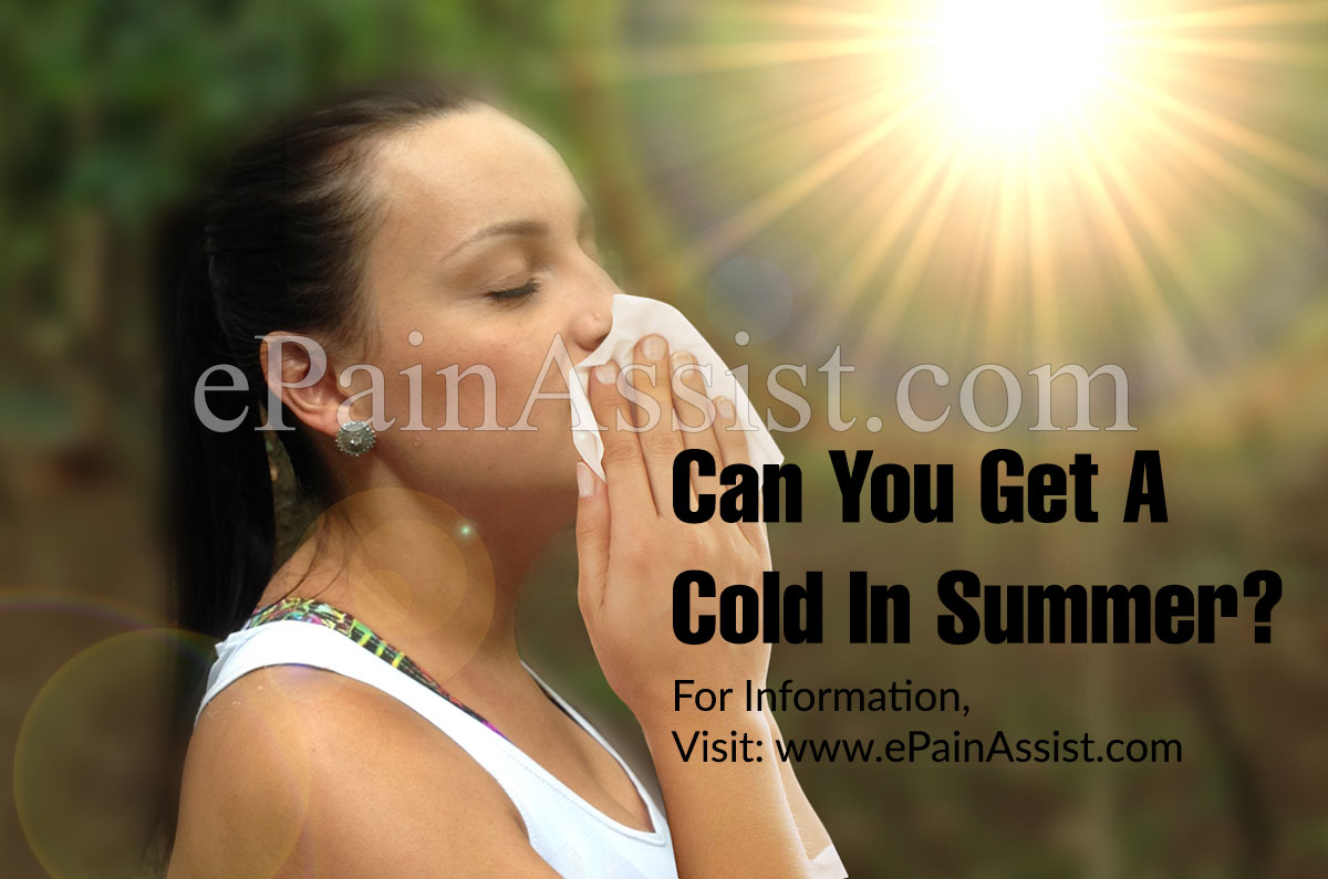 Can You Get A Cold In Summer?