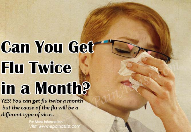 Can You Get Flu Twice in a Month?