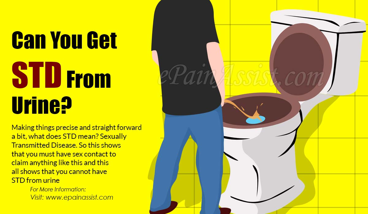 Can You Get STD From Urine?