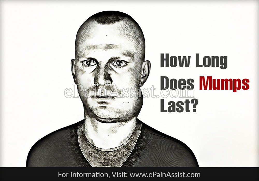 How Long Does Mumps Last?